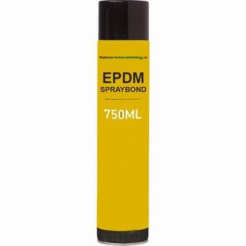 EPDM Lijmspray spuitlijm 750 ml