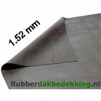 EPDM Dakbedekking 15.25 meter breed 1.52mm dik