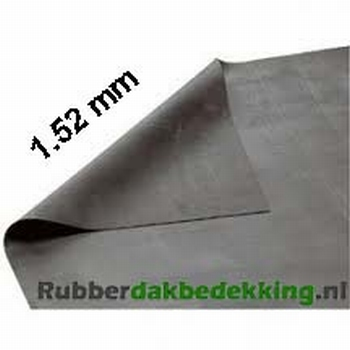 EPDM Dakbedekking 7.62 meter breed 1.52mm dik
